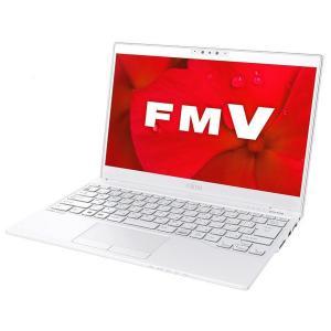 富士通 FUJITSU ノートパソコン  FMV LIFEBOOK UH80/D2 FMVU80D2WC  13.3型/ Core i7/ メモリ8GB/ SSD 256GB/ Windows 10/ Office付き/ホワイト 【展示品】|bjy-store