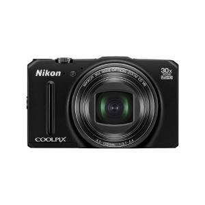 【美品・展示品・送料無料】Nikon デジタルカメラ S9700 光学30倍 1605万画素 プレシャスブラック S9700BK (プレシャスブラック)