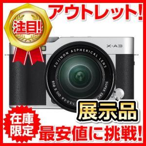 展示品 FUJIFILM ミラーレス一眼カメラ X-A3 レ...