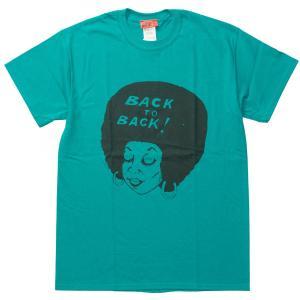 Back to Back originals SST Afro JD バック・トゥ・バック オリジナルT アフロ ジェイドドーム|bk2bk