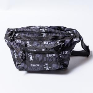 Back to Back バック・トゥ・バック パッカブル・ウエストポーチ ウルフ&アフロ ボディーバッグ|bk2bk