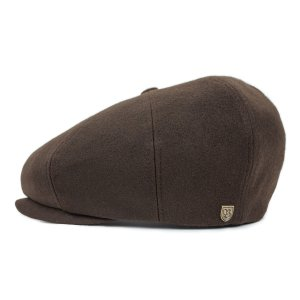 ブリクストン スリート スナップキャップ ブラウン Brixton SLEET SNAP CAP BROWN イヤーフラップ付きキャスケット ダークブラウン #00801 [正規品]|bk2bk