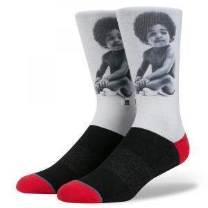 STANCE Socks READY TO DIE スタンスソックス レディー・トゥー・ダイ カジュアル アンセムシリーズ ノトーリアス B.I.G. BIGGIE SMALL [正規品]|bk2bk