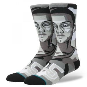 STANCE NBA Mosaic Simmons スタンスソックス フューチャーレジェンズ モザイク ベン・シモンズ セブンティーシクサーズ バスケットボール [正規品]|bk2bk
