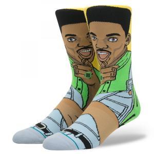 STANCE Socks WILL スタンスソックス ウィル・スミス カジュアル アンセムシリーズ The Fresh Prince of Bel-Air ベルエアのフレッシュプリンス [正規品]|bk2bk