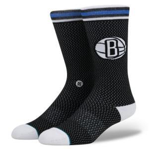 STANCE Socks Nets Jersey スタンスソックス ネッツ・ジャージー Basketball NBAコレクション バスケットボール Brooklyn ブルックリン [正規品]|bk2bk