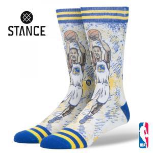 STANCE NBA TF KLAY スタンスソックス フューチャーレジェンズ クレイ・トンプソン ウォリアーズ Strength in Numbers バスケットボール [正規品]|bk2bk