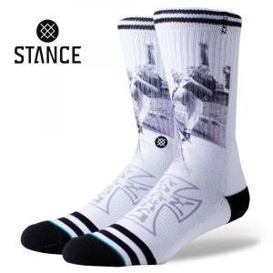 STANCE Socks VENICE SKATE LEGENDS スタンスソックス ベニス・スケート スケートボーディング レジェンズ JayAdams ジェイ・アダムス [正規品]|bk2bk