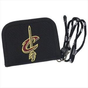 NBA WALLET CLEVELAND CAVALIERS エヌビーエー 刺繍ロゴ入り財布 クリーブランド・キャバリアーズ バスケットボール|bk2bk
