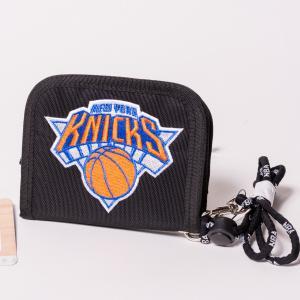NBA WALLET NEW YOURK KNICKS エヌビーエー 刺繍ロゴ入り財布 ニューヨーク・ニックス バスケットボール|bk2bk