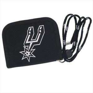 NBA WALLET SAN ANTONIO SPURS エヌビーエー 刺繍ロゴ入り財布 サンアントニオ・スパーズ バスケットボール|bk2bk
