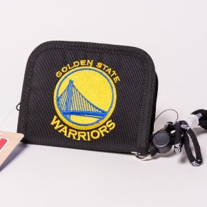 NBA WALLET GOLDEN STATE WARRIORS エヌビーエー 刺繍ロゴ入り財布 ゴールデンステート・ウォリアーズ バスケットボール|bk2bk
