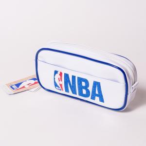 NBA PEN CASE エヌビーエー 刺繍ロゴ入りペンケース ポーチ 筆箱 バスケットボール|bk2bk