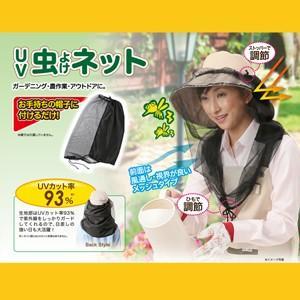 UVカット 紫外線 日焼け防止 日よけ 虫よけ 虫除け 帽子...