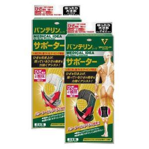 送料無料!! 興和(コーワ) バンテリンコーワサポーター ひざ専用 しっかり加圧 ゆったり大きめ