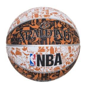 ●壁の落書き(グラフィティ)をデザインに落とし込んだラバーボール ●屋外でのプレーに適した耐久性に優...