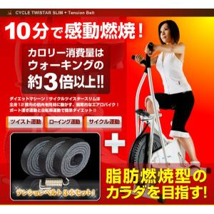 サイクルツイスタースリム&テンションベルト3本セット bkworld