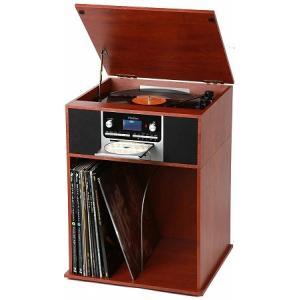 AL完売しました。 とうしょう 収納ラック付きレコードプレーヤー 4年保証 TS-7120