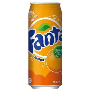 コカ・コーラ社(コカコーラ社) ファンタオレンジ 缶 500ml×24本 (1ケース、まとめ買い、最安値に挑戦)|bkworld