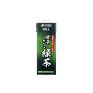 伊藤園 業務用 濃くておいしい緑茶 1L×6本(1ケース、まとめ買い、最安値に挑戦) 【関東限定】 bkworld