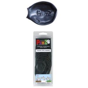 正規輸入品 アメリカ Pawz Dog Boots社製 ポウズ ラバードッグブーツ ブラック S PZBLKS|bkworld
