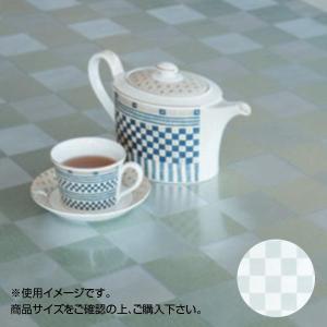 富双合成 正規激安 テーブルクロス デザインクリスタル透明 特別セール品 約130cm幅×30m巻 DCR0213