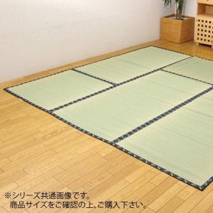 純国産 い草 上敷き 高額売筋 カーペット 糸引織 ショッピング 日本の暮らし 約286×286cm 1105284 本間4.5畳