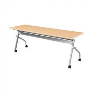 <title>オフィス家具 平行スタックテーブル 180×60×70cm ナチュラル KSP1860A-NW 日本メーカー新品</title>