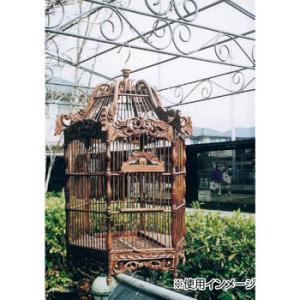 新作製品 世界最高品質人気 アンティーク鳥かご 六角形 15406 Bタイプ 捧呈
