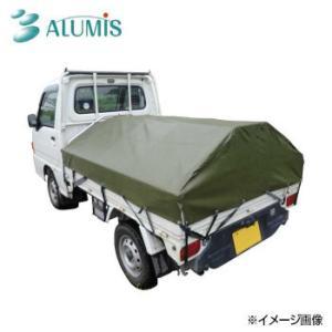アルミフレーム 軽トラ幌 AKT-5N bkworld
