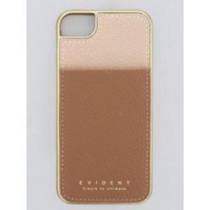 スマホケース ミラー・カードケース付 ベージュ×ブラウン iPhone8/7/6s/6/SE対応 SCC8015-BE|bkworld