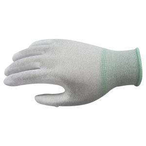 三高サプライ 制電ポリウレタンコーティンググローブ(手袋) カーボンパームフィットタイプ 10双入り PUGV222 bkworld
