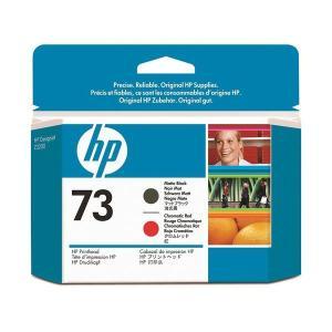 <title>まとめ HP73 プリントヘッド マットブラック クロムレッド CD949A 1個 〔×3セット〕 捧呈</title>