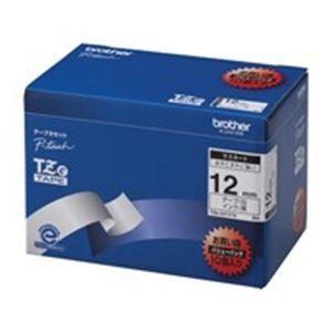 業務用3セット トラスト brother ブラザー工業 文字テープ ラベルプリンター用テープ 白に黒文字 10個入り 販売期間 限定のお得なタイムセール 10 TZe-231V 〔幅:12mm〕