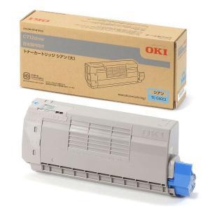 〔純正品〕 OKI TC-C4CC2 格安 価格でご提供いたします トナーカートリッジ シアン 大 希望者のみラッピング無料