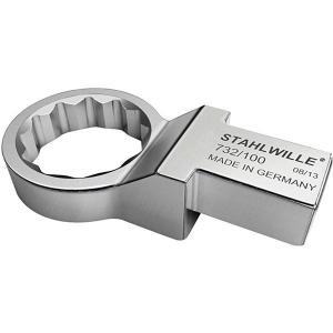STAHLWILLE スタビレー 732 開店記念セール 100-27 58221027 数量は多 メガネ トルクレンチ差替ヘッド