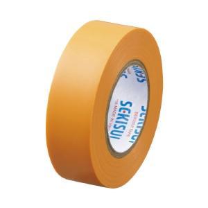 まとめ 春の新作続々 セキスイ エスロンテープ #360 19mm×10m 低廉 ×300セット 橙 V360D1N
