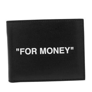 OFF-WHITE オフホワイト 注目ブランド 2つ折小銭付き財布 OMNC008R20853038 1001 BLACK 超美品再入荷品質至上 WHITE