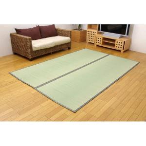 純国産/日本製 糸引織 い草上敷 『湯沢』 六一間4.5畳(約277×277cm) bkworld 02