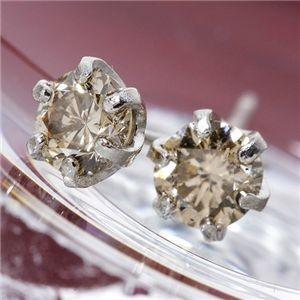 P900 0.4ct デポー TTLBダイヤモンドピアス 新作製品 世界最高品質人気