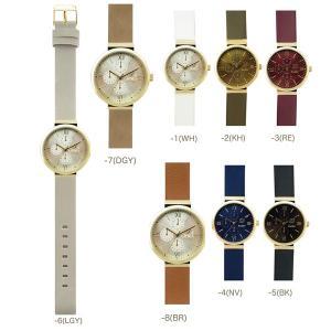 腕時計 ジェイコブ レディース メンズ アナログ おしゃれ 人気 カジュアル シンプル 革ベルト メール便 送料無料|bl-ange