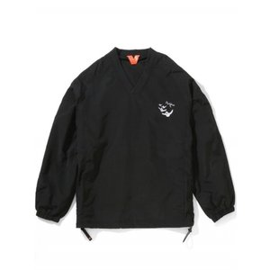 FLATLUX SCHULTZ WIND SHIRT(BLACK)|blackannyfujisawayh