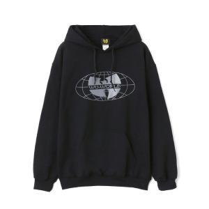【WU-WORLD(ウータン・クラン)】WU-TANG FOREVER HOODIE(BLACK/SILVER)B系 ビッグサイズ BIGサイズ 大きいサイズ|blackannyfujisawayh