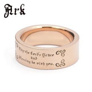 Ark / アーク 祈りのメッセージリング アンティークピンクゴールド|blackbarts