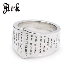 Ark / アーク 聖書のメッセージリング|blackbarts