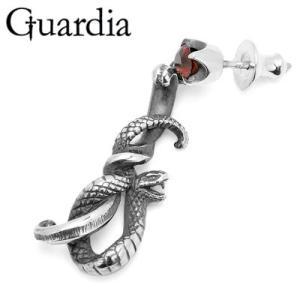 Guardia / ガルディア Medusiana / メドゥシアナ ピアス R ガーネット|blackbarts