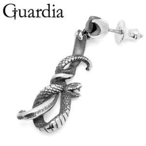 Guardia / ガルディア Medusiana / メドゥシアナ ピアス R ブラックキュービックジルコニア|blackbarts