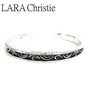 LARA Christie / ララクリスティー セイントグラスバングル ブラック BLACK Label|blackbarts