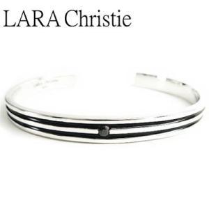 LARA Christie / ララクリスティー オリンピアバングル ブラック BLACK Label|blackbarts