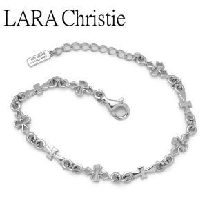 LARA Christie / ララクリスティー テンプルクロスブレスレット ホワイト WHITE Label B6036-W|blackbarts